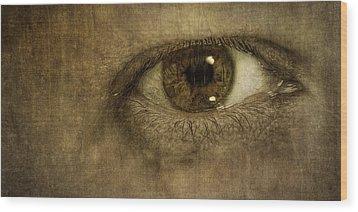 Always Watching Wood Print by Scott Norris