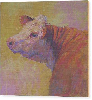 Alyona Wood Print by Susan Williamson