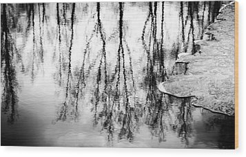 Amalgamation Wood Print by Matti Ollikainen