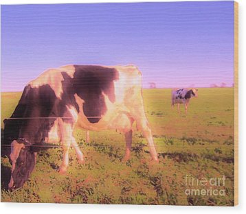Wood Print featuring the photograph Amazing Graze by Susan Carella