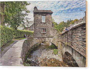 Wood Print featuring the photograph Ambleside by Colin and Linda McKie