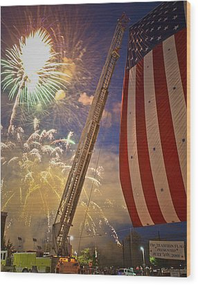 America The Beautiful Wood Print by Jim DeLillo