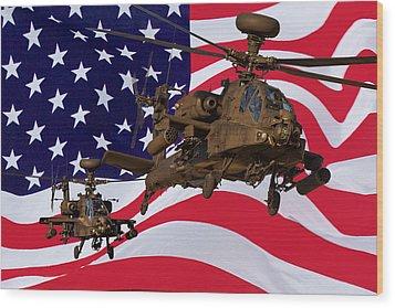 American Choppers Wood Print by Ken Brannen