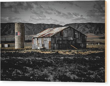American Cylo - Lancaster, California  Wood Print