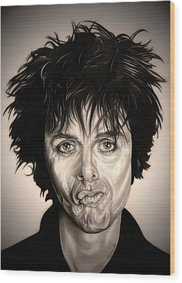 American Idiot Wood Print by Fred Larucci