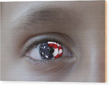 American Proud - Stars And Stripes Forever Wood Print