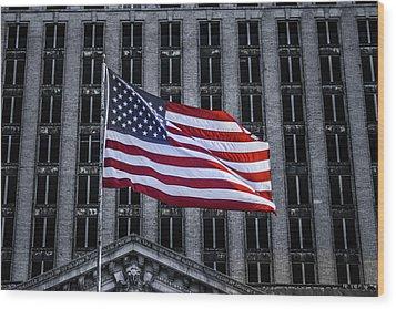 American The Beautiful  Wood Print