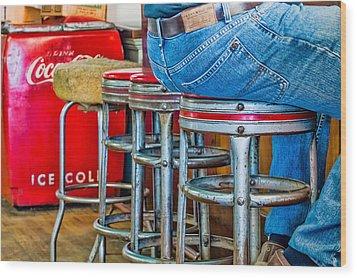 Americana Break Time Wood Print
