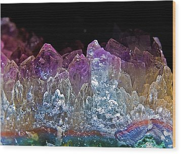 Amethyst Wood Print by Jim DeLillo