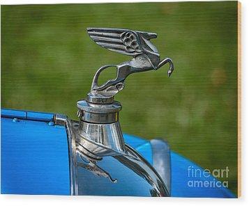 Amilcar Pegasus Emblem Wood Print by Adrian Evans