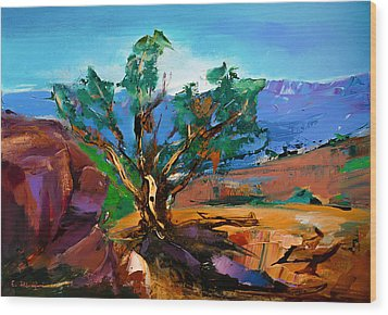 Among The Red Rocks - Sedona Wood Print