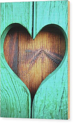Amor ... Wood Print by Juergen Weiss