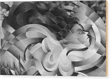 Amore Wood Print