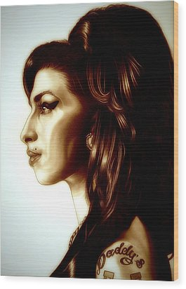 Amy Wood Print by Fred Larucci