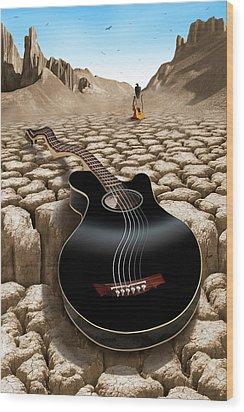 An Acoustic Nightmare 2 Wood Print by Mike McGlothlen