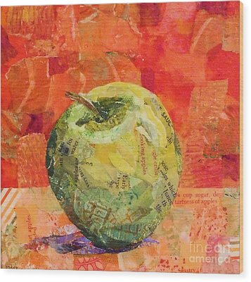 An Apple For Granny Wood Print
