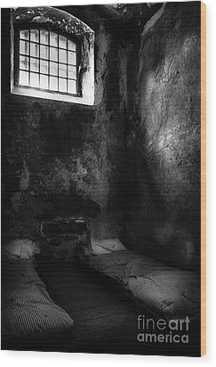 Wood Print featuring the photograph An Empty Cell In Old Cork City Gaol by RicardMN Photography
