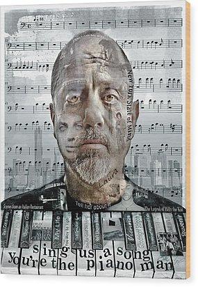 An Innocent Man Wood Print