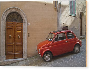 An Italian Classic Wood Print by Roger Mullenhour