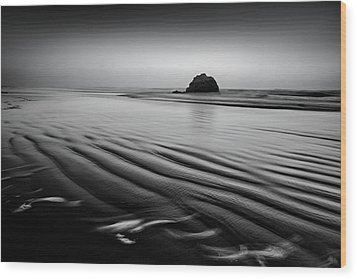 Wood Print featuring the photograph An Oregon Morning by Jon Glaser