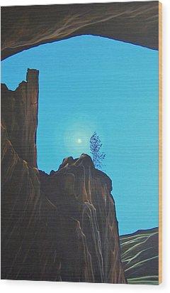 Anasazi Dreams Wood Print