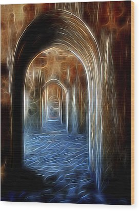 Ancient Doorway 5 Wood Print by William Horden
