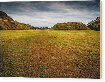 Ancient Indian Burial Ground  Wood Print