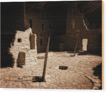 Wood Print featuring the photograph Ancient Sanctuary by Kurt Van Wagner