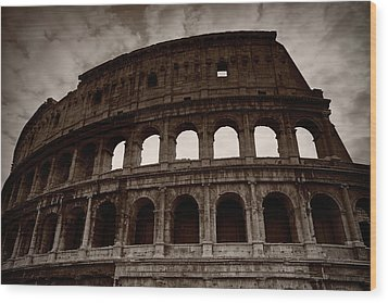 Wood Print featuring the photograph Ancient Times by Stefan Nielsen