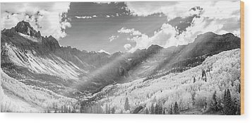 Wood Print featuring the photograph And You Feel The Scene by Jon Glaser