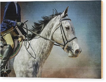 Wood Print featuring the photograph Andalucian Blue by Debby Herold