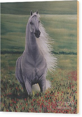 Andalusian Spirit Wood Print by Louise Green