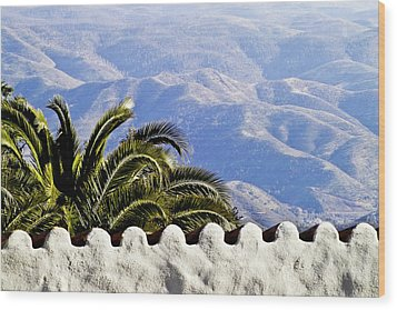 Andalusian View Wood Print by Heiko Koehrer-Wagner