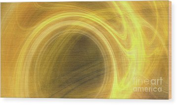 Wood Print featuring the digital art Andee Design Abstract 21 2017 by Andee Design