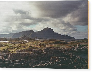 Andenes Wood Print by Gregory Barger