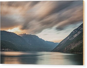 Wood Print featuring the photograph Anderson Lake Dreamscape by Pierre Leclerc Photography
