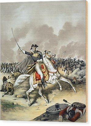 Andrew Jackson At The Battle Of New Orleans Wood Print by War Is Hell Store