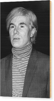 Andy Warhol, 1928-1987, American Wood Print by Everett