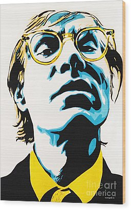 Andy Warhol Part Two. Wood Print