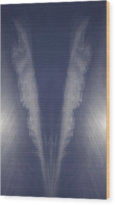 Angel Number Nine Wood Print