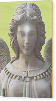 Angel Of Devotion No. 12 Wood Print by Ramon Labusch