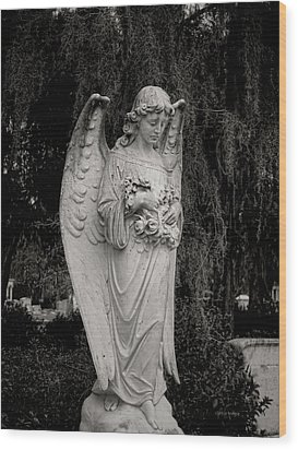 Angel Of Expression Wood Print