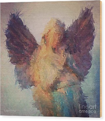 Angel Of Hope Wood Print by Robert ONeil