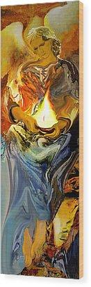 Angel Of Light Wood Print by Anne Weirich