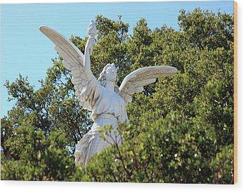 Angel Of Revelation Wood Print