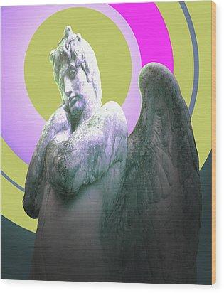 Angel Of Youth No. 03 Wood Print by Ramon Labusch
