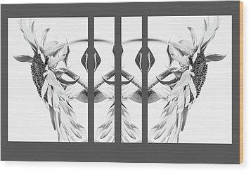 Angel Wings - Wood Print