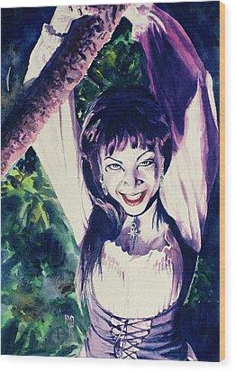 Anissa Wood Print by Ken Meyer