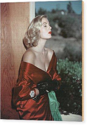 Anita Ekberg, 1950s Wood Print by Everett