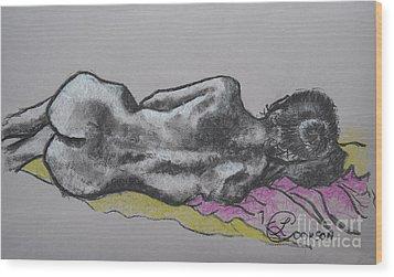 Anna Wood Print by Lynda Cookson